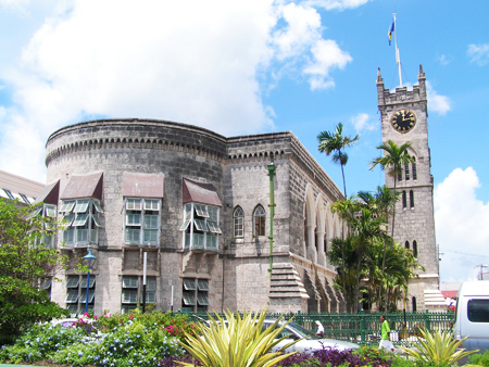 Historic buildings in Bridgetown Barbados